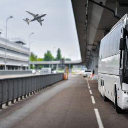 navette pour votre transfert à l'aéroport